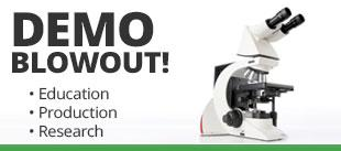 demo microscope sale