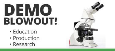 Demo Microscopes for Sale