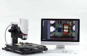 microscope with computer