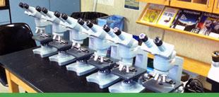 Donated Microscopes