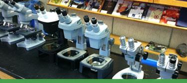 Donated Microscopes
