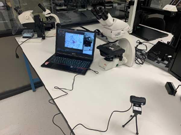 Microscope Remote Teaching Kit