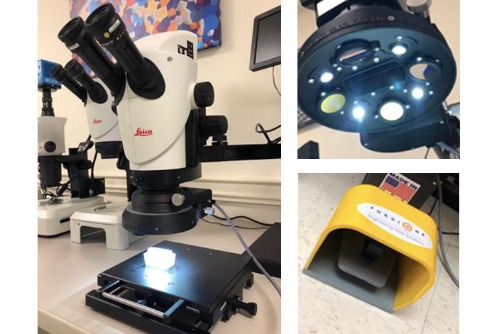 microscope ring light