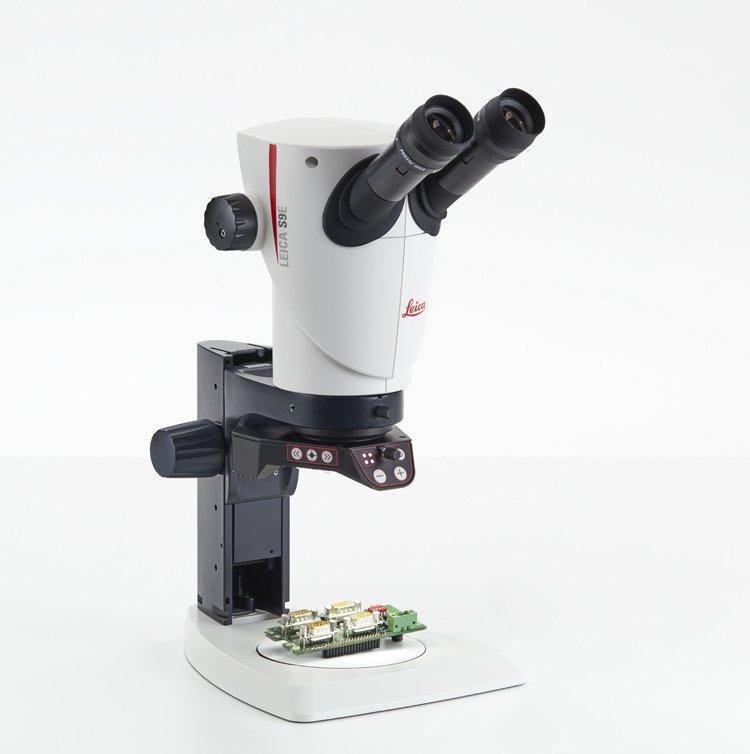 stereo microscope encoder